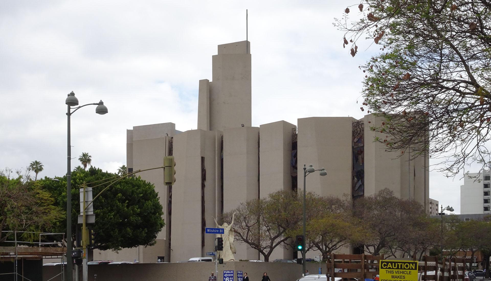 Saint Basil Catholic Church, Architect AC Martin